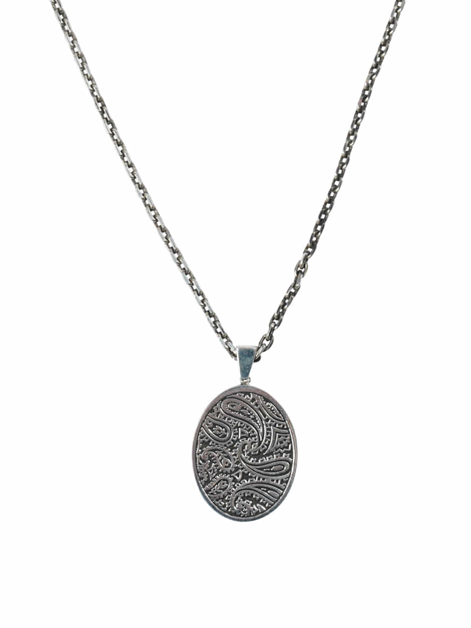 Paisley 92.5 silver necklace 588#